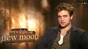 Saga Zmierzch: Księżyc w nowiu - Robert Pattinson o filmie (wywiad Onet.pl)
