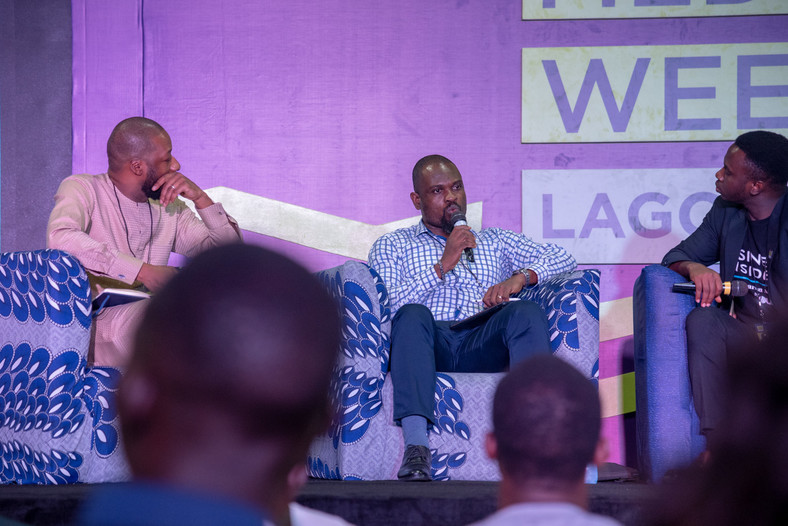 Ben Onwe, Country Head, Digital Strategy, RADP at the Business Insider by Pulse session at the Social Media Week Lagos 2019