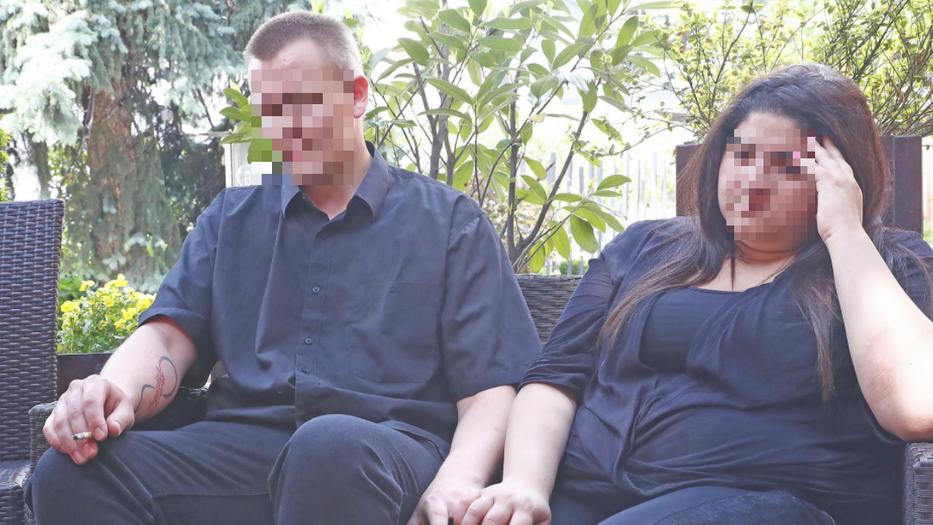 Tamás és Anasztázia – akik azóta már nem élnek együtt – dolgoztak a tragédia idején Fotó: Fuszek Gábor