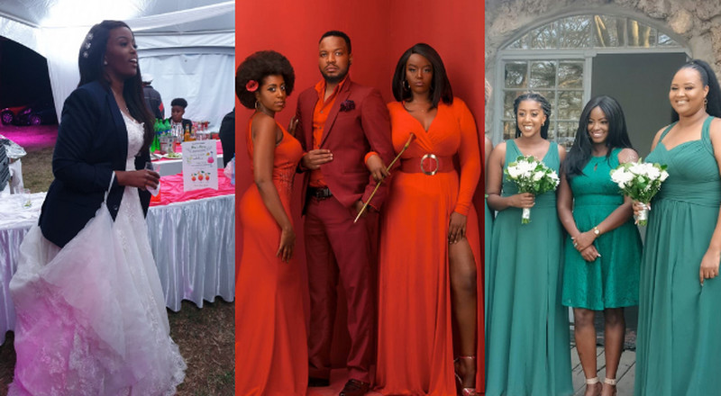 Exclusive photos of Elani's Maureen Kunga's private wedding in Naivasha