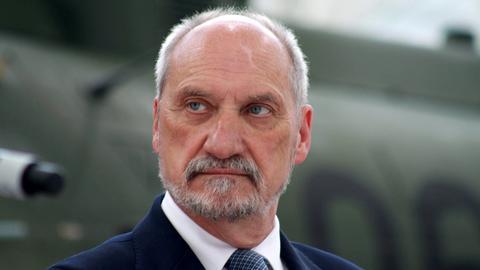 Antoni Macierewicz, szef Ministerstwa Obrony Narodowej