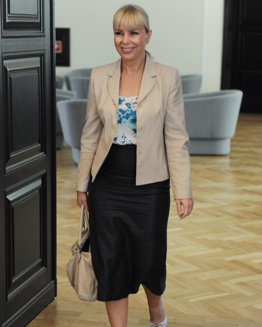 Elżbieta Bieńkowska, wicepremier, a już wkrótce komisarz w Komisji Europejskiej.