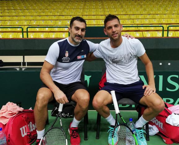 Nenad Zimonjić i Filip Krajinović