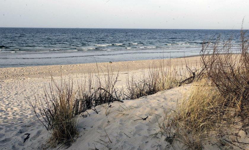 Jastarnia, plaża