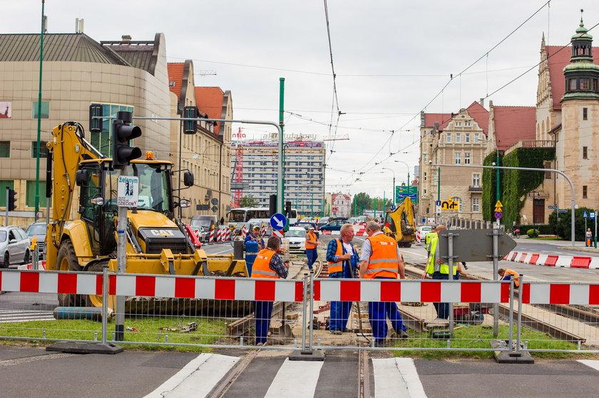 Koniec prac na skrzyżowaniu Św. Marcin/Al. Niepodległości