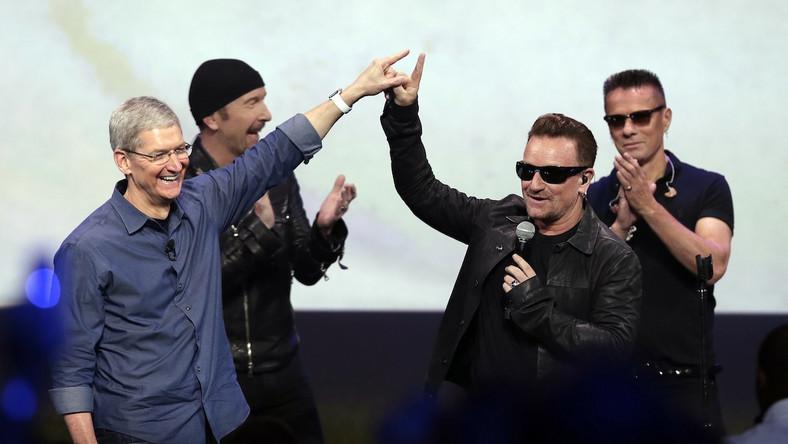 U2 na konferencji Apple