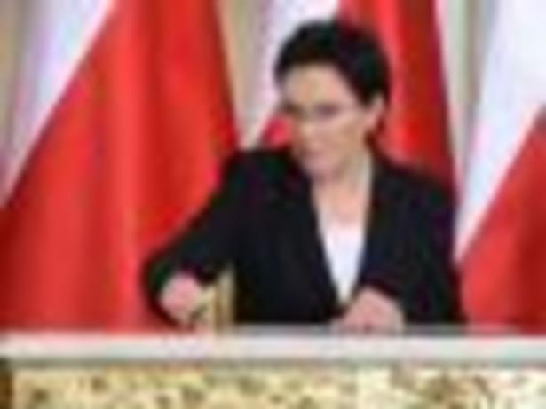 Premier Ewa Kopacz. Fot. PAP/Radek Pietruszka