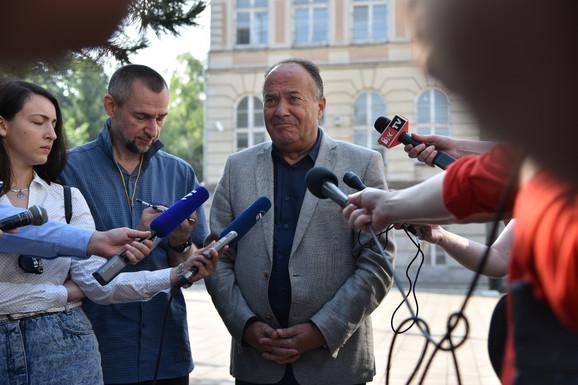 Ministar prosvete, Mladen Šarčević