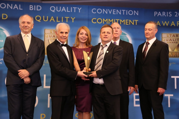 VALJEVO-Krusik Svetska nagrada za kvalitet Konvencija Pariz