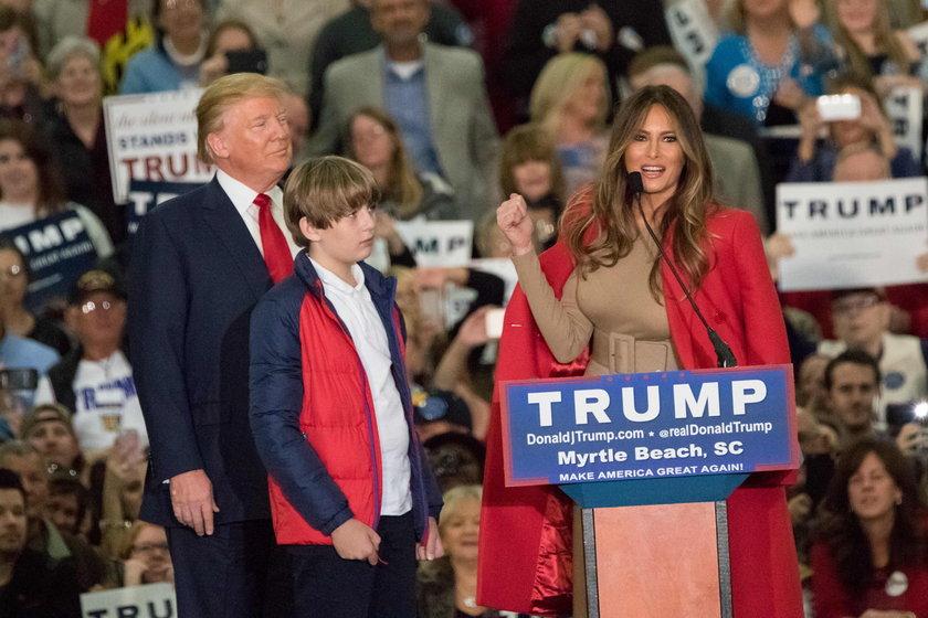 Melania Trump ma szansę zostać pierwszą damą USA