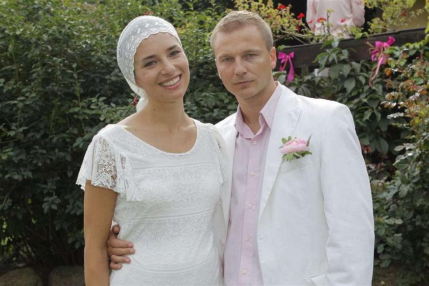 Frycz i Czartoryska wyszły za mąż. Foto