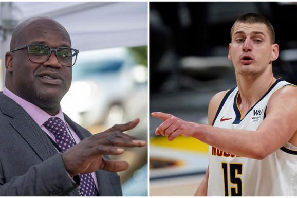 """""""Šekile, ti si lud! Lud!"""" Nikola Jokić se ovako obratio NBA legendi, a O'Nil mu odgovorio - NA SRPSKOM! /VIDEO/"""