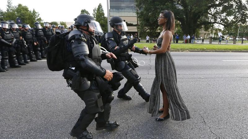 NETHERLANDS WORLD PRESS PHOTO (Taking a Stand In Baton Rouge - 2017 World Press Photo)