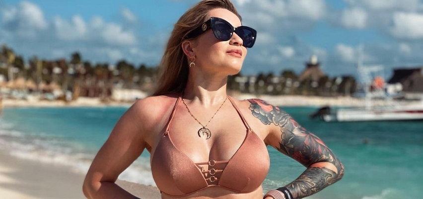 Ewelina Lisowska pokazała się w bikini. Fani pytają wprost: Powiększyłaś piersi?