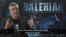 """Luc Besson o filmie """"Valerian i Miasto Tysiąca Planet"""": Pieniądze i przyszłość kina? W ogóle mnie to nie obchodzi"""