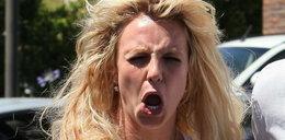 Zobacz głupie miny Britney