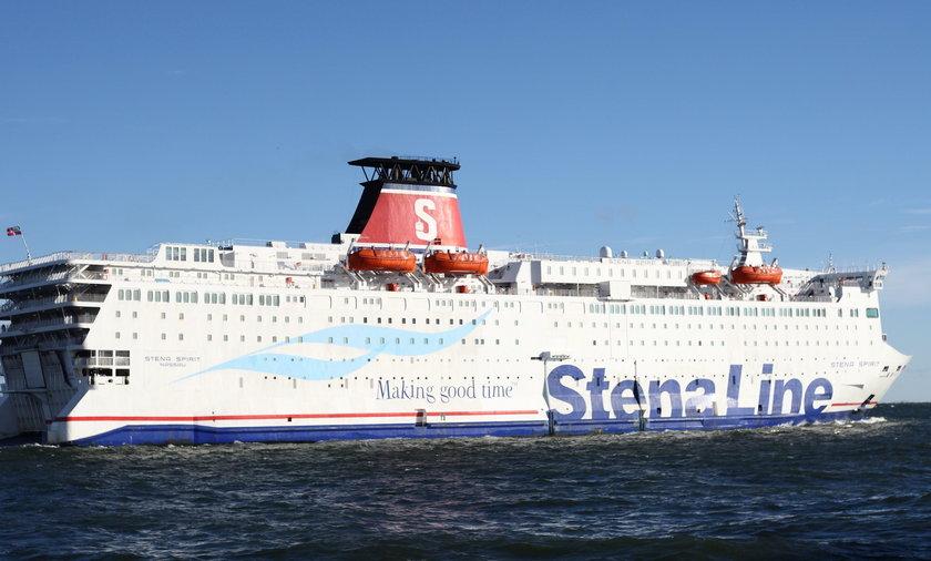 Zwłoki mężczyzny na pokładzie promu Stena Line w Gdyni