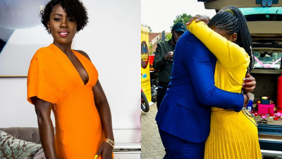 Don't give him first- Akothee tells younger sister after getting engaged in surprise affair (Photos)
