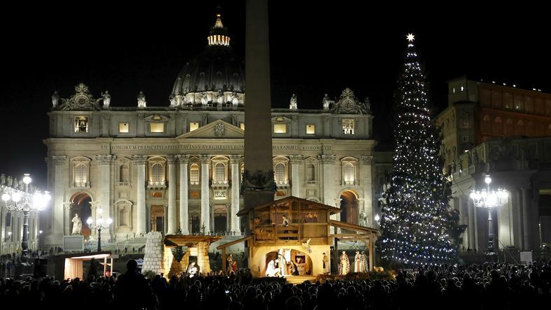 Choinka w Watykanie