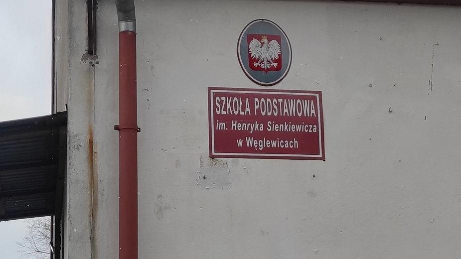 Szkoła podstawowa w Węglewicach