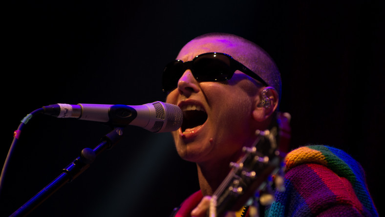 Sinéad O'Connor na festiwalu w Glastonbury