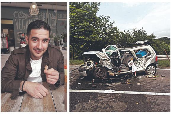 DOŠAO U SRBIJU NA ODMOR, PA POGINUO Saši na automobil pao LIM TEŽAK 9 TONA kad je krenuo da se vidi sa bratom