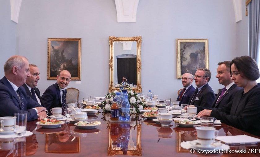 Konsultacje u prezydenta