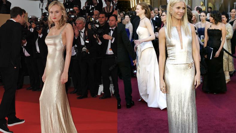 Gwyneth Paltrow i Diane Kruger w kracjach marki Calvin Klein