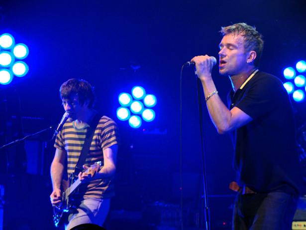 Koncert zespołu Blur