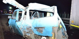 Tragedia na S3. Cztery osoby ranne