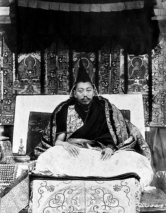 Tubten Gjatso, 13. dalaj-lama