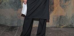Spódnica czy spodnie? Gwiazda nie mogła się zdecydować