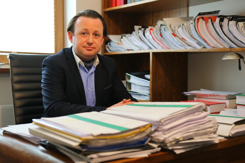 Mec. Antoni Koprowski - obrońca Ireny O.