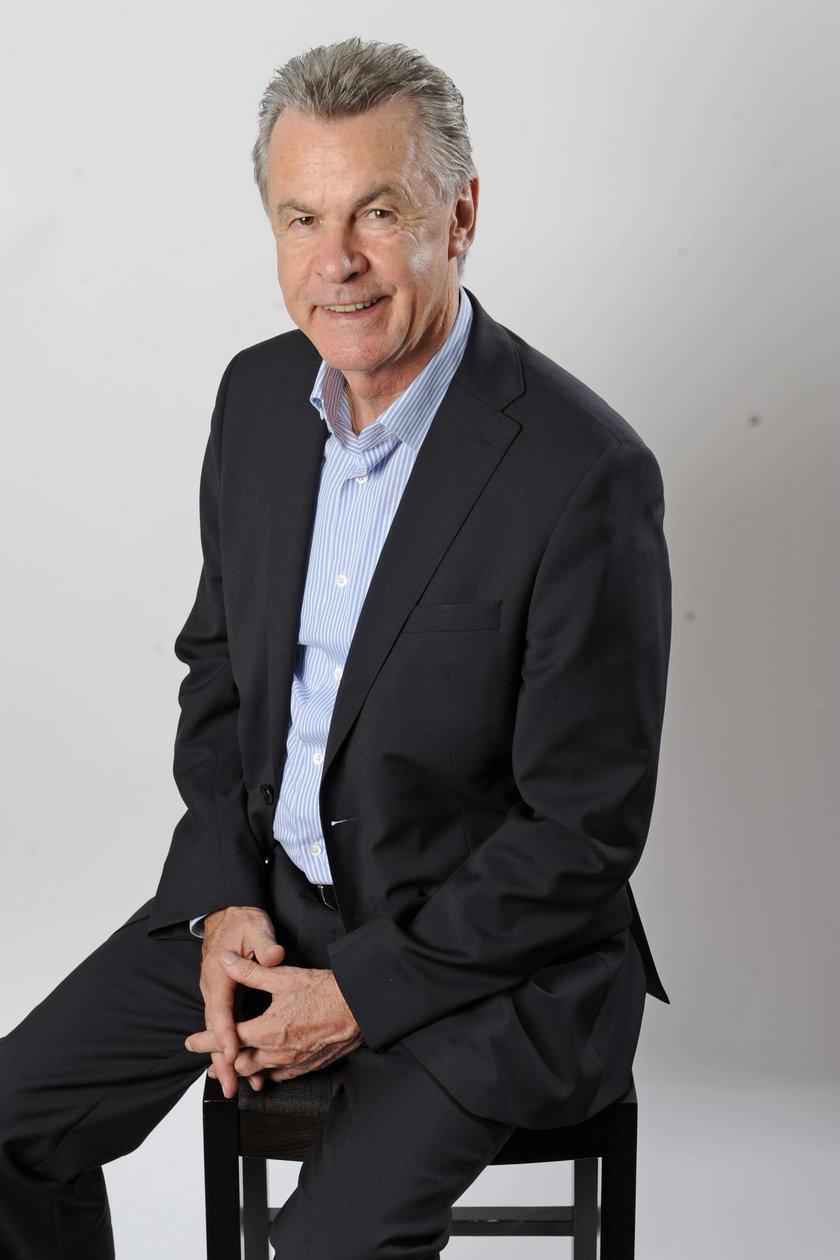 Trener Ottmar Hitzfeld
