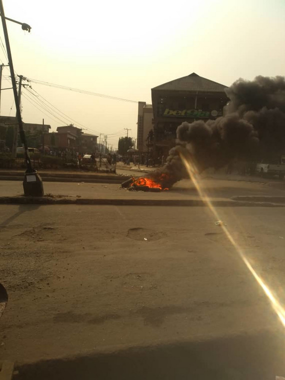 Okada ban sparks violent protest in Lagos (Pulse)