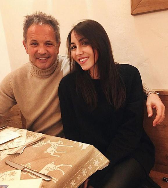 Siniša sa ćerkom Virdžinijom Mihajlović