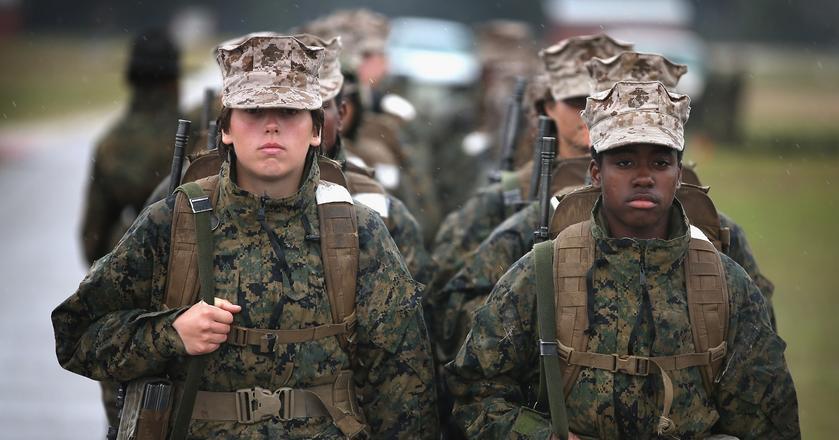 Weteranka z Marines tłumaczy, jak żołnierze podtrzymują wysokie poczucie własnej wartości