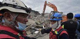 Pod gruzami wciąż mogą być żywi ludzie