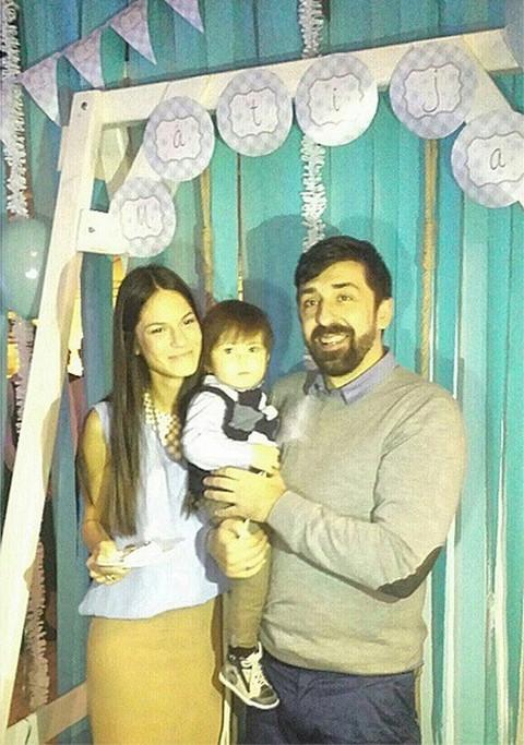 ŽURKA: Ognjen i Danijela proslavili prvi rođendan sina Matije!