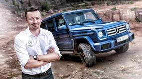 Adam Małysz na szkoleniu AMG Driving Academy