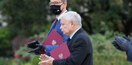 Nietypowe zachowanie Kaczyńskiego
