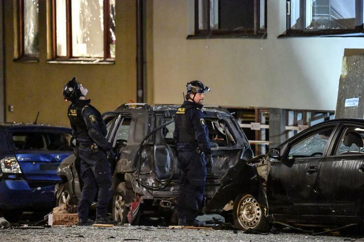 Švedska policija EPA Janerik Henriksson