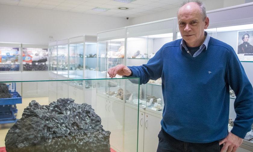 Wielki meteoryt w Poznaniu