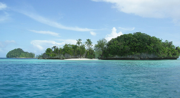 Palau čine mala rajska ostrva