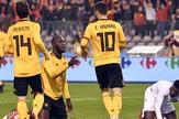 Dris Mertens, Romelu Lukaku proslava gola