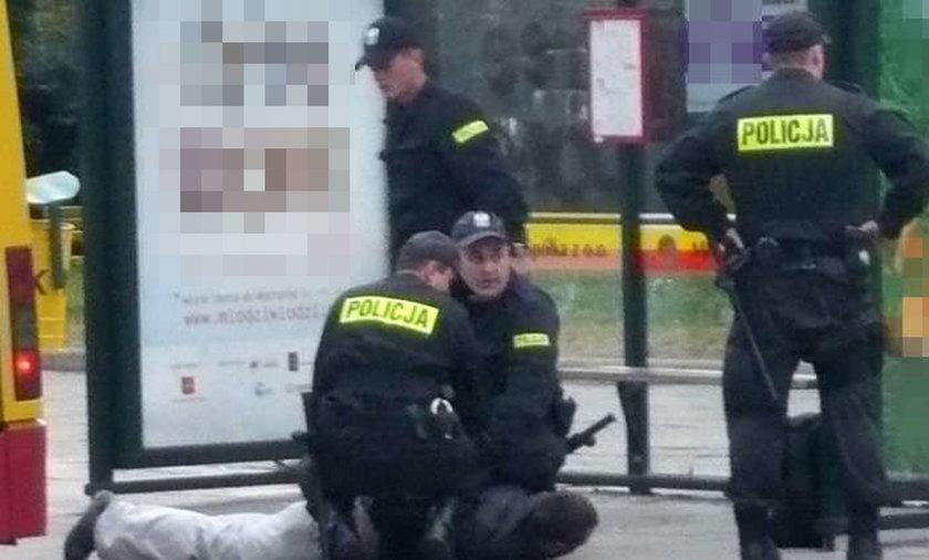 Policja uratowała samobójcę!