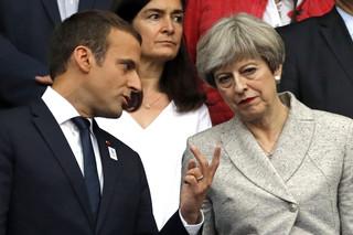 Francuska prasa o wizycie Theresy May w Paryżu: Kurtuazja przed Brexitem