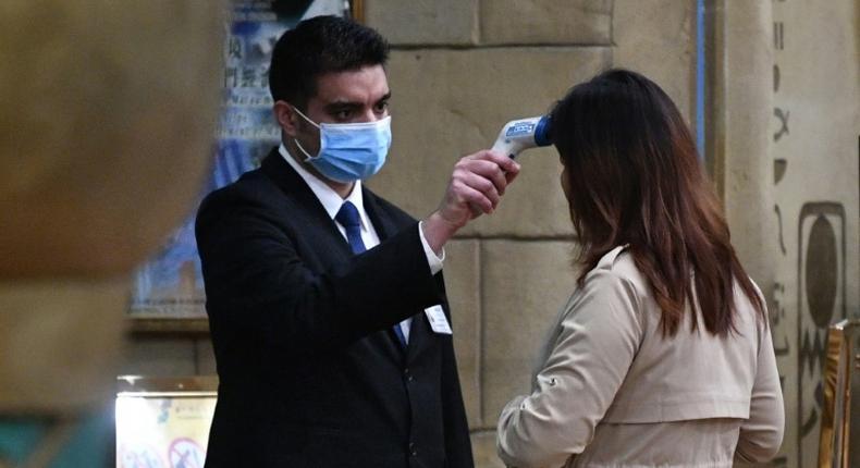 The coronavirus is spreading all over the world