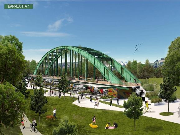 Ovako bi izgledao most na suvom