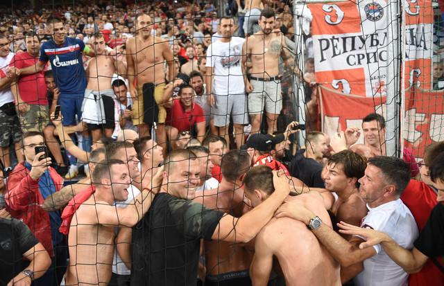Zvezdini fudbaleri slave ulazak u Ligu šampiona posle revanša u Salcburgu